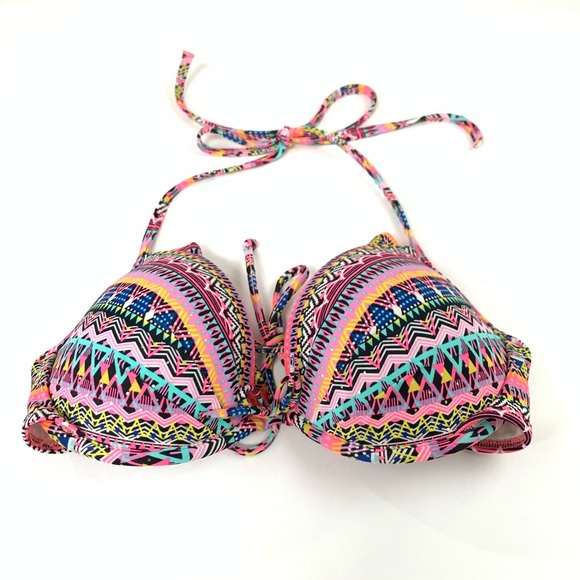 Victoria's Secret Other - Victorias Secret Bikini Top 34C Fabulous Padded
